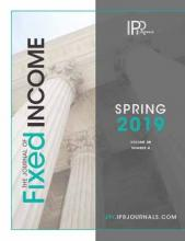 The Journal of Fixed Income: 28 (4)