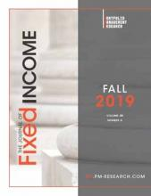 The Journal of Fixed Income: 29 (2)