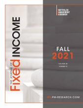 The Journal of Fixed Income: 31 (2)